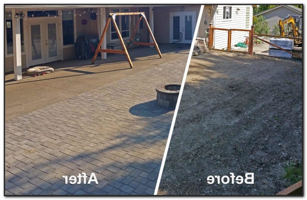Install Patio Pavers Video