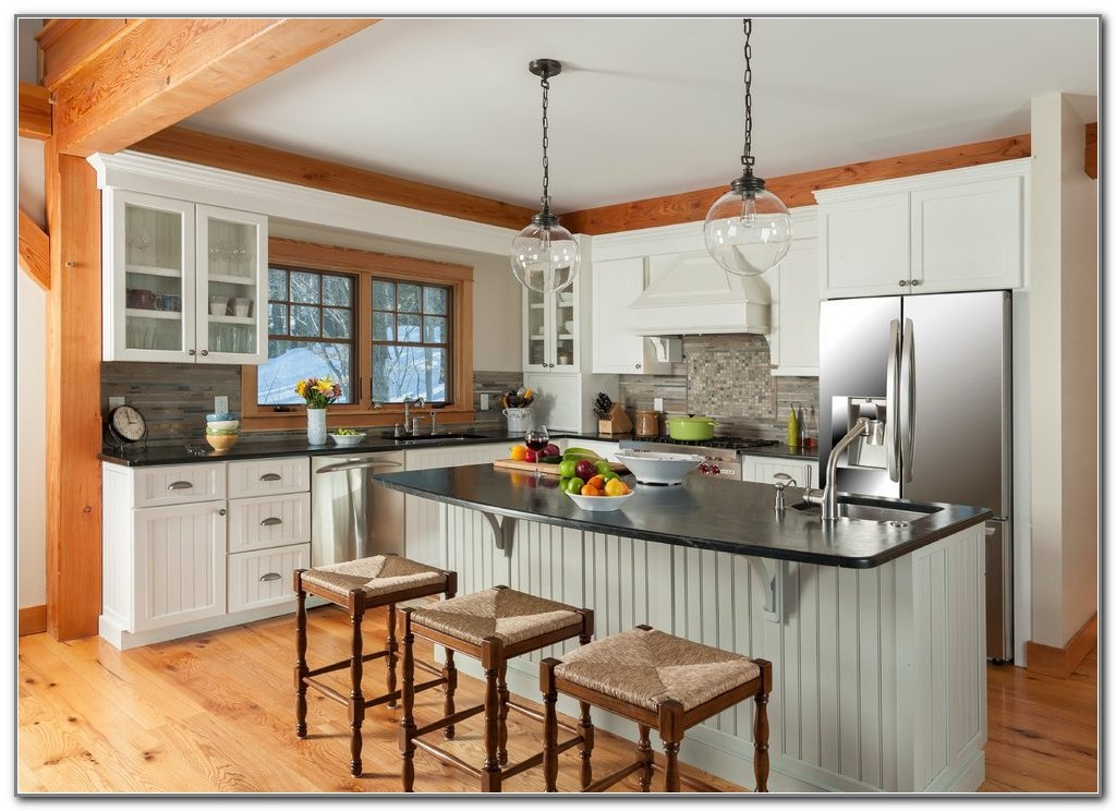 Kitchen Counter Overhang Cabinets