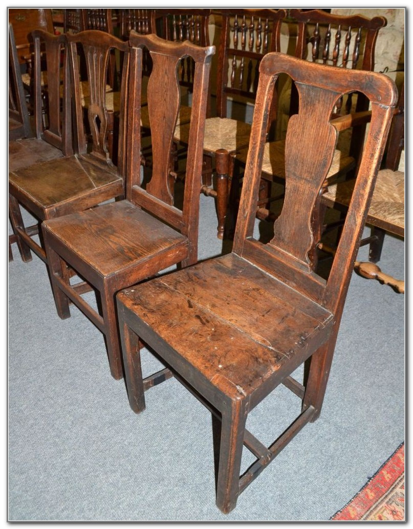 Oak Country Kitchen Chairs