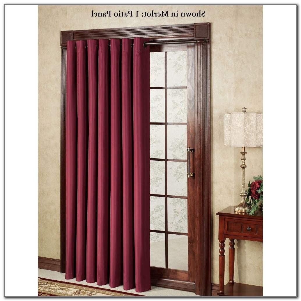Patio Door Coverings Curtains