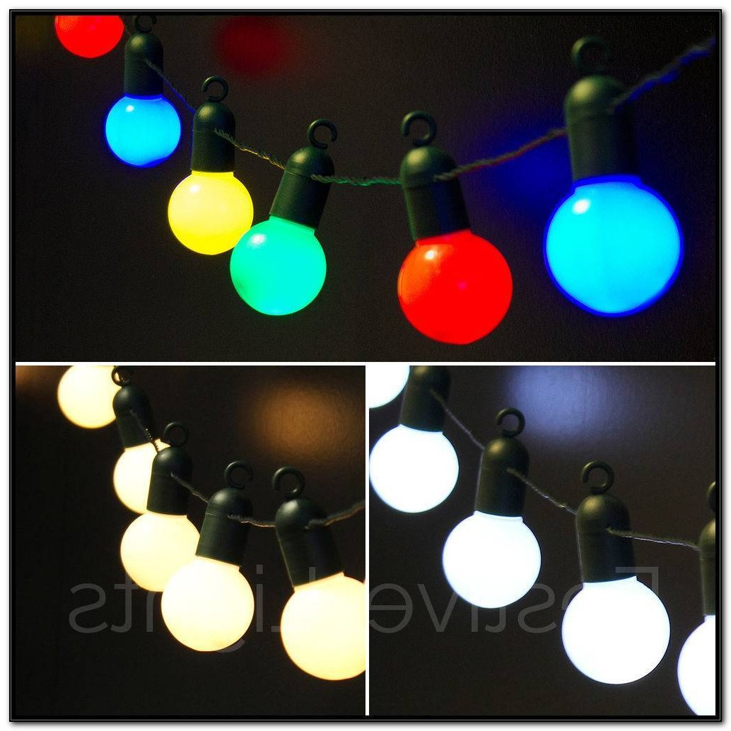 Patio Globe Led String Lights