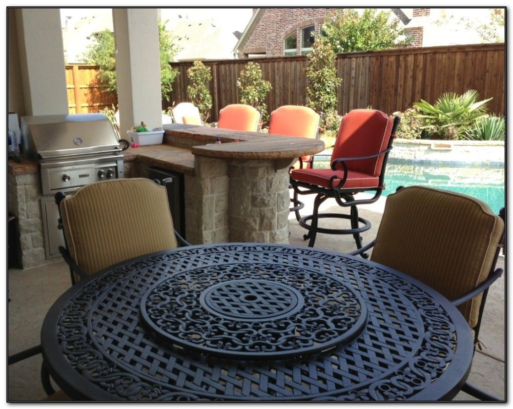Patio Sets With Propane Fire Pit Table