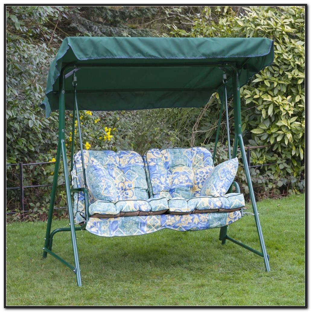 Patio Swing Cushions And Canopy