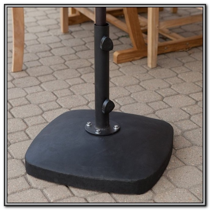 Patio Umbrella Stands With Wheels