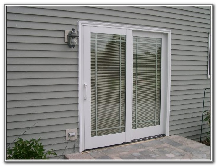 Pella Patio Doors With Blinds Inside
