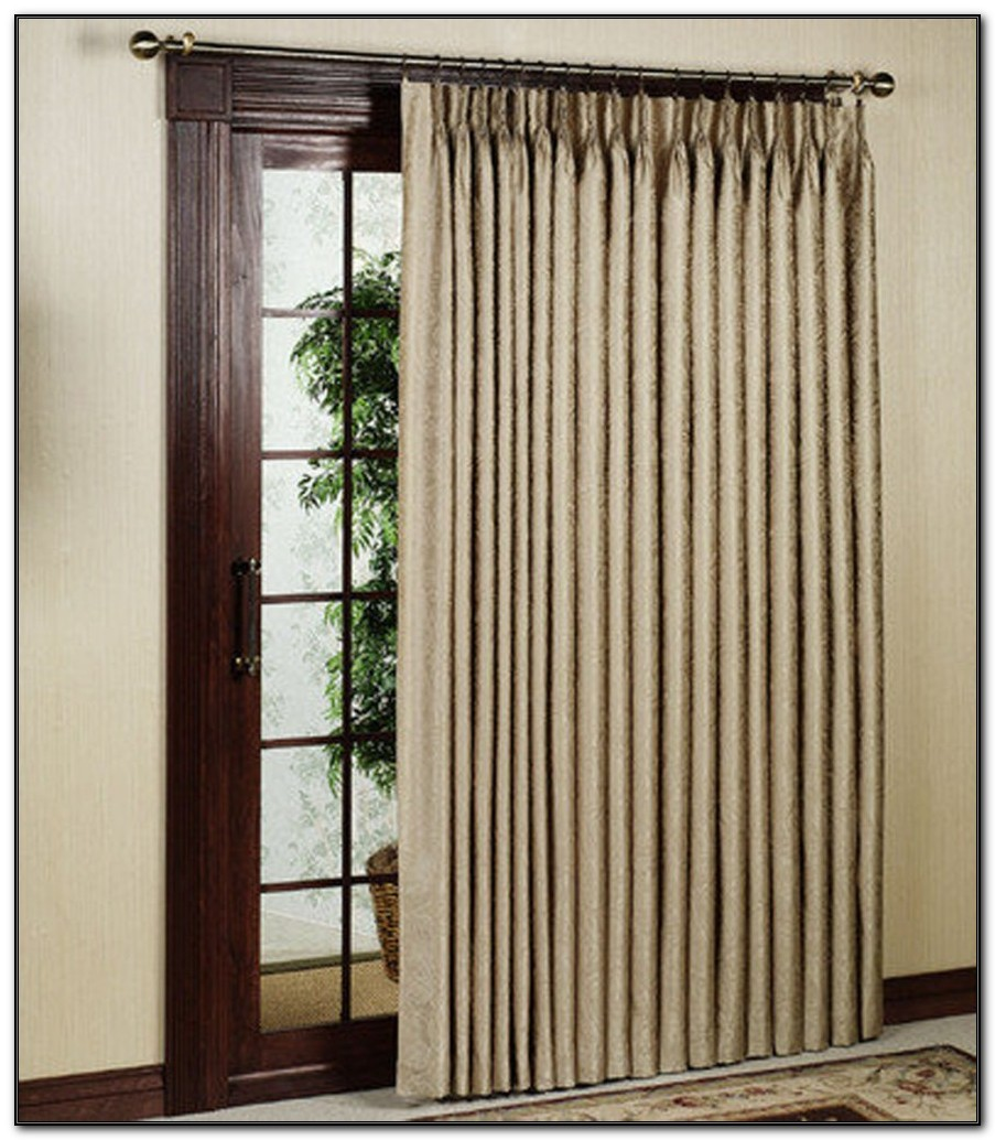 Pinch Pleat Patio Panel Curtain