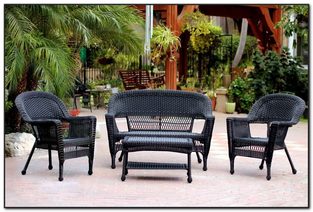 Plastic Wicker Patio Furniture Sets