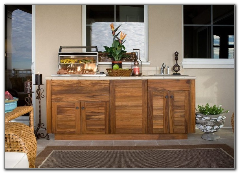 Prefabricated Outdoor Kitchen Cabinets