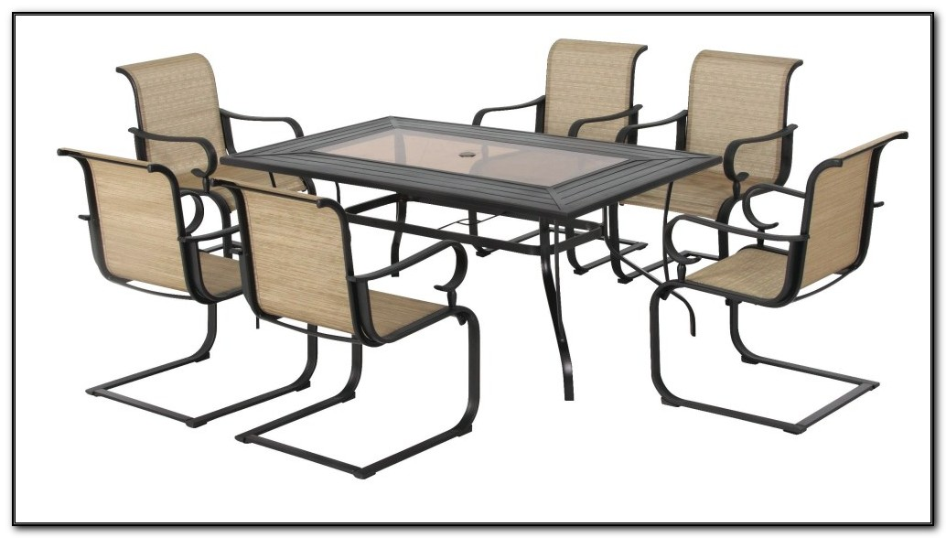 Rectangle Patio Table And Chairs