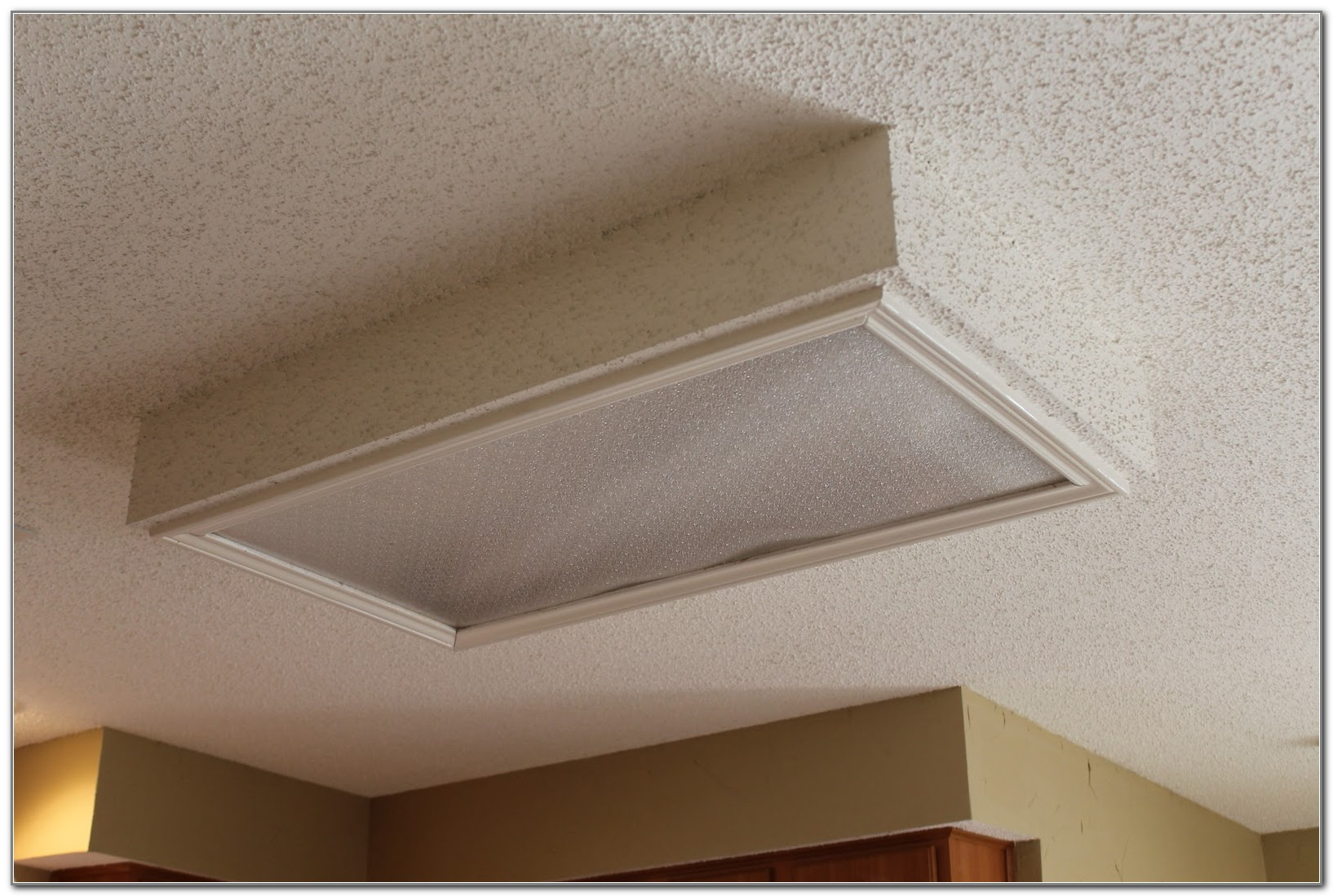 Removing Fluorescent Light In Kitchen