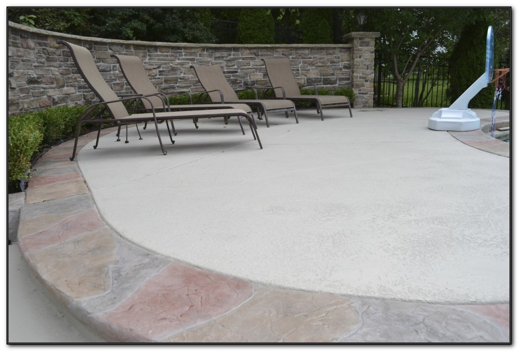 Resurface Concrete Patio Ideas
