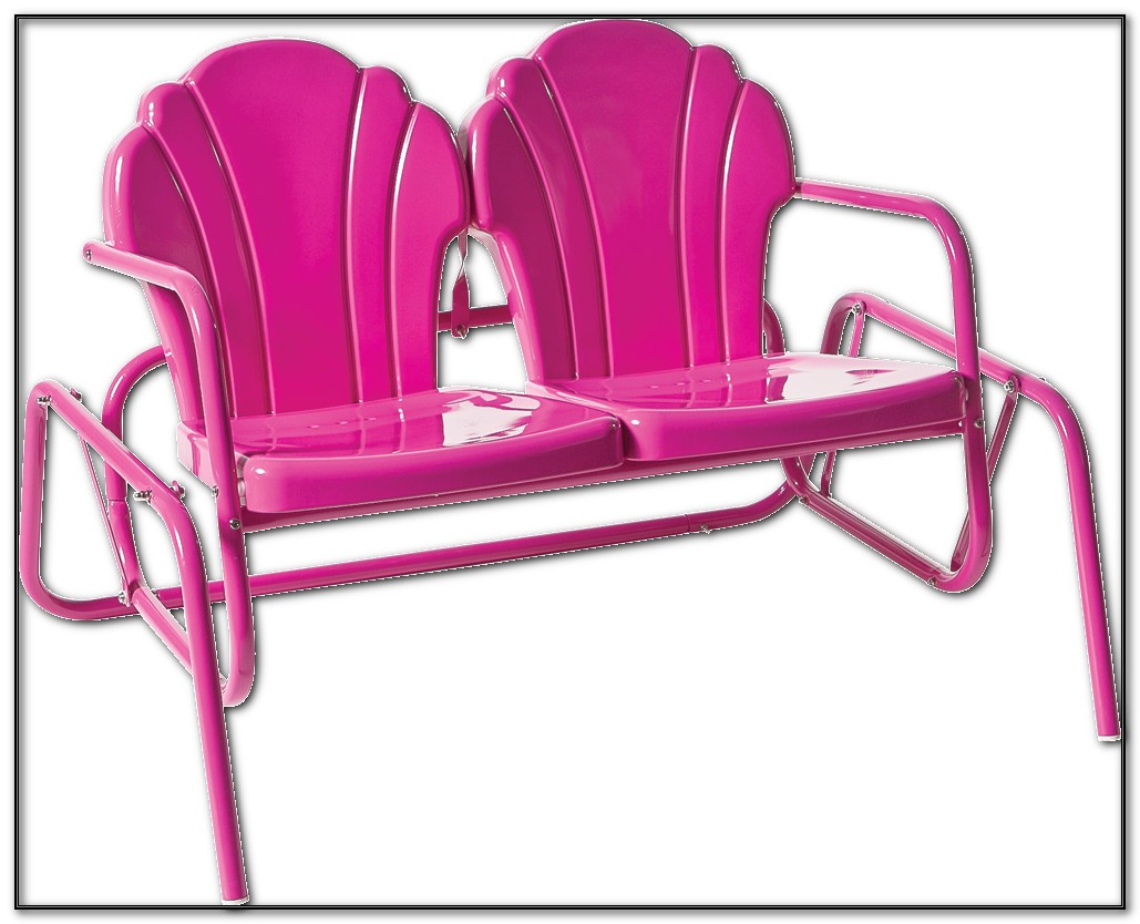 Retro Glider Patio Chairs