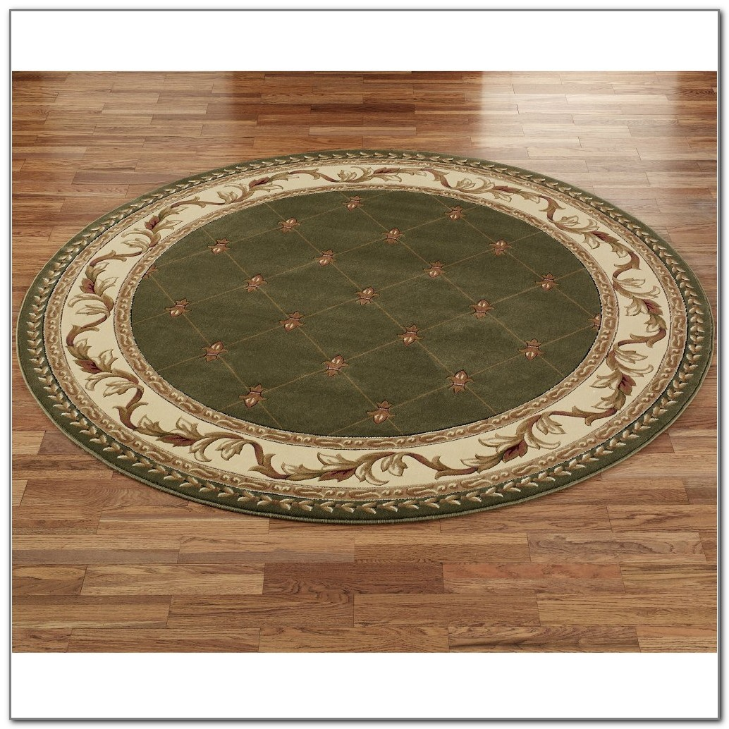 Round Rug For Under Kitchen Table