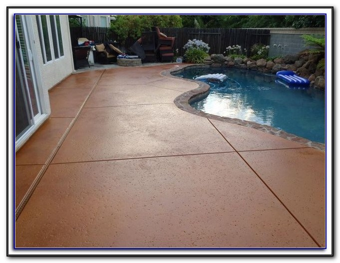 Sealing Concrete Patio Furniture