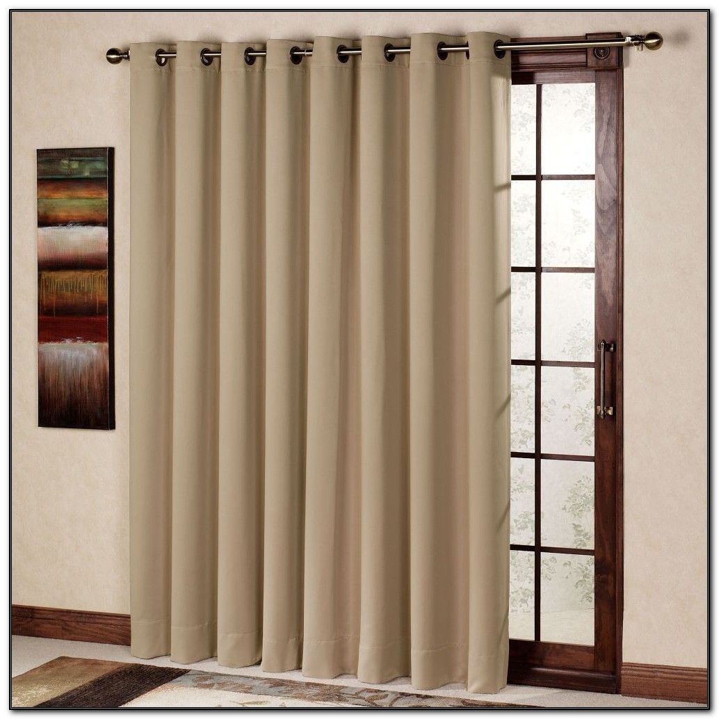 Sliding Patio Door Curtains