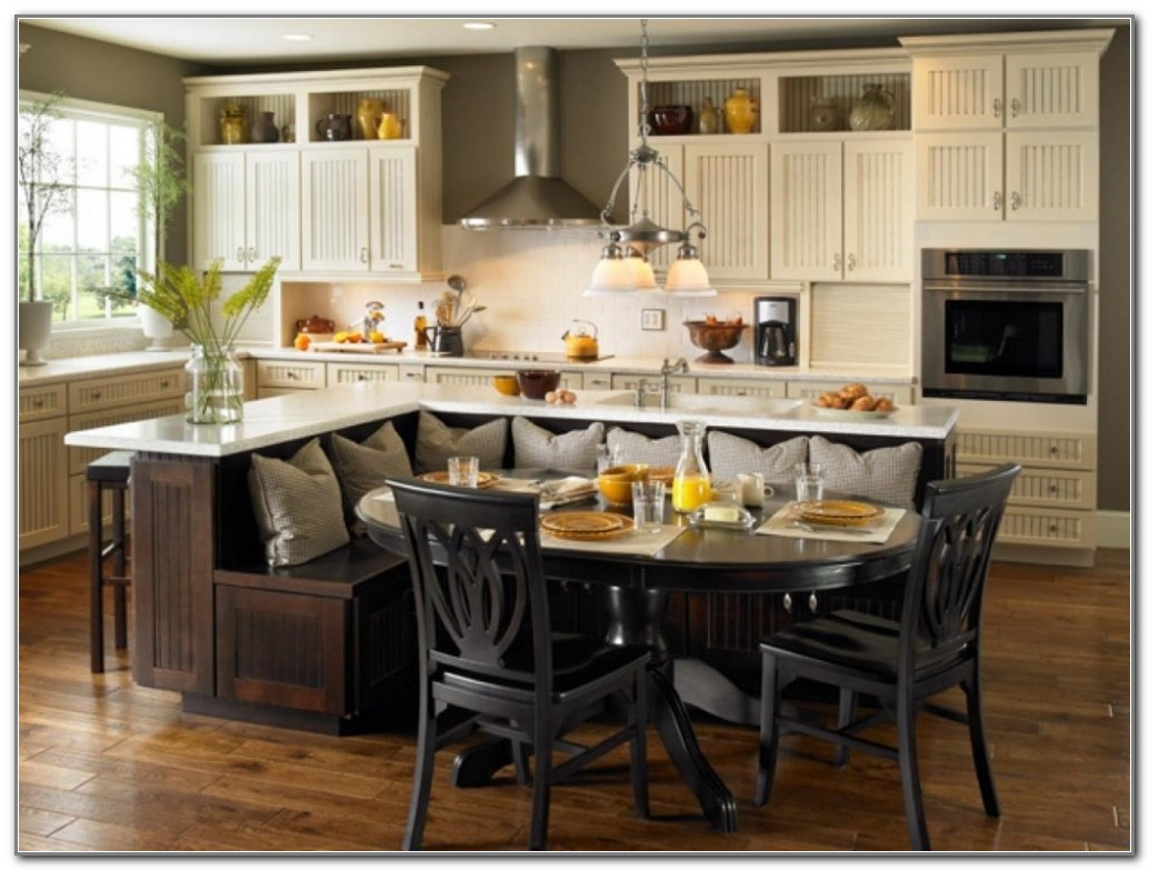 Small Kitchen Island With Table