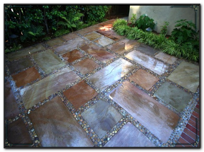 Staining Concrete Patio Stones