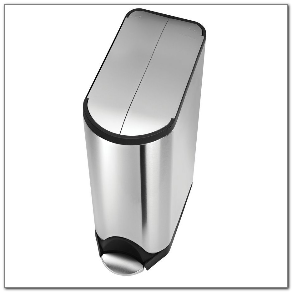 Stainless Steel Kitchen Trash Cans With Lids