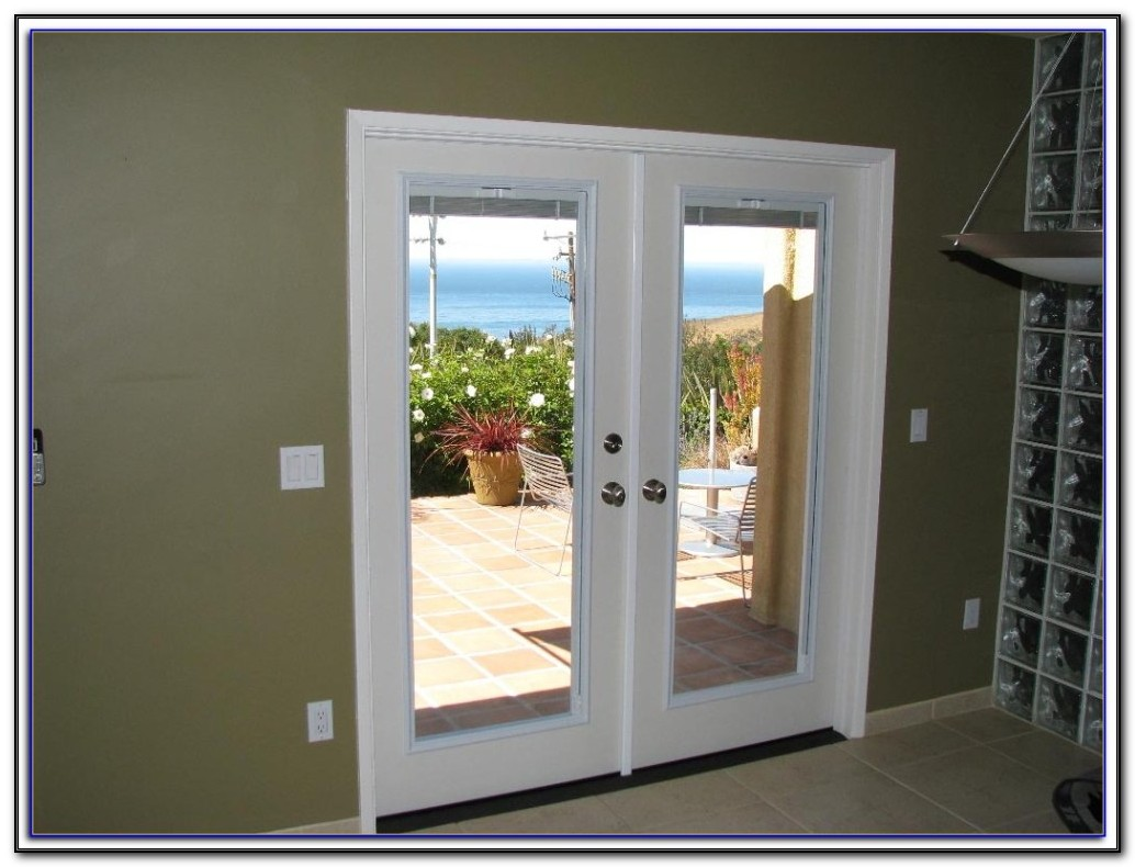 Therma Tru Patio Doors With Blinds