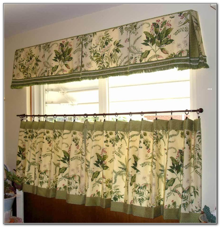 Valances And Curtains For Kitchen