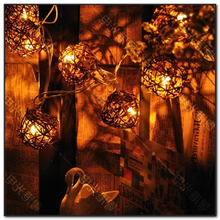 Vintage Patio Globe String Lights