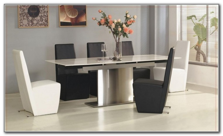 White Rectangular Kitchen Table And Chairs
