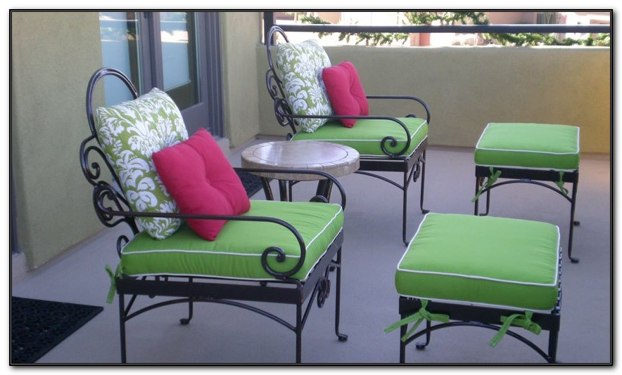 White Wrought Iron Outdoor Furniture