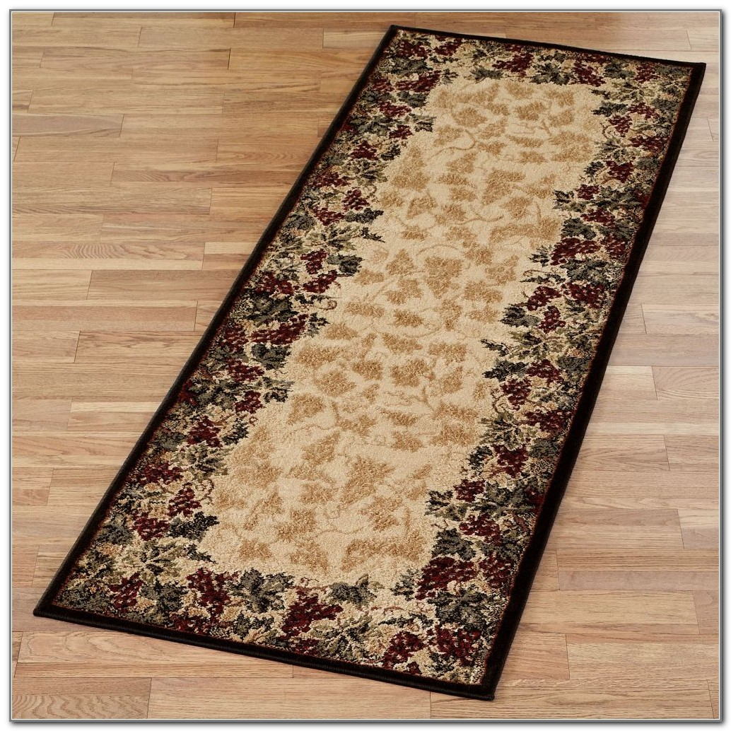 Wine Design Kitchen Rugs