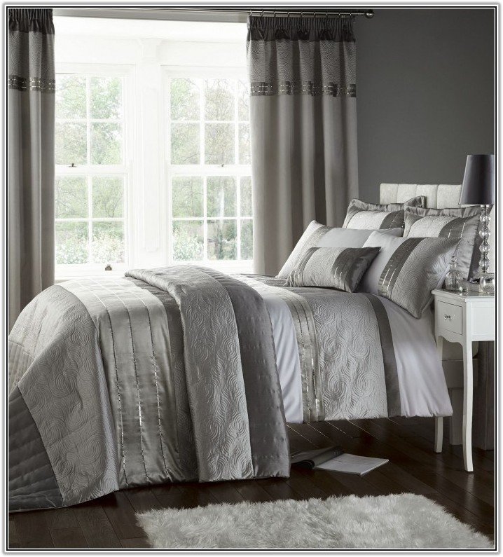 Bedroom Duvet Sets With Matching Curtains