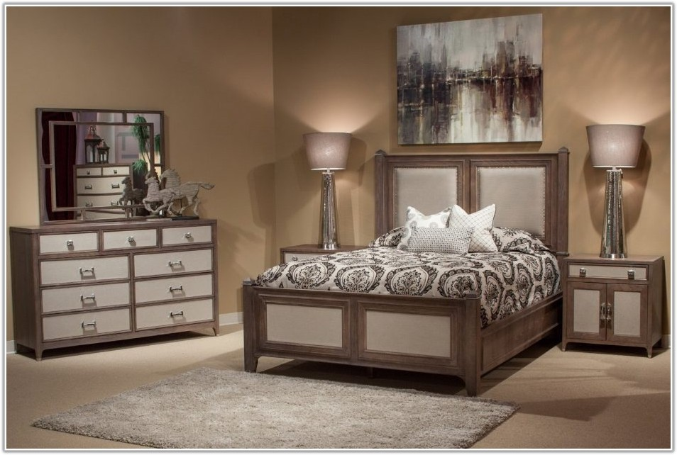 Bedroom Sets With Leather Headboards