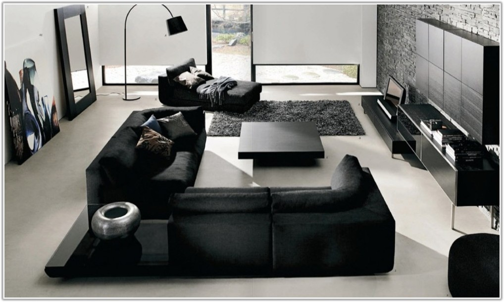 Black And Grey Living Room Decor