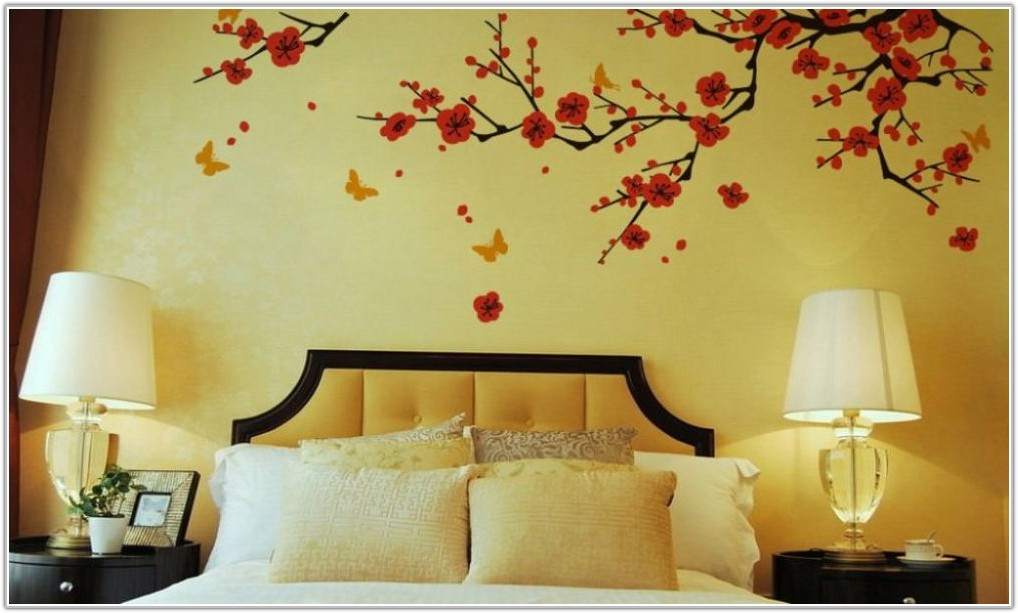 Cherry Blossom Bedroom Decorating Ideas