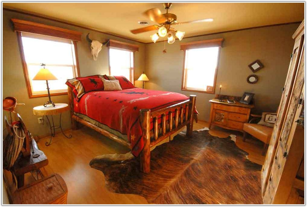 Country Western Bedroom Decorating Ideas