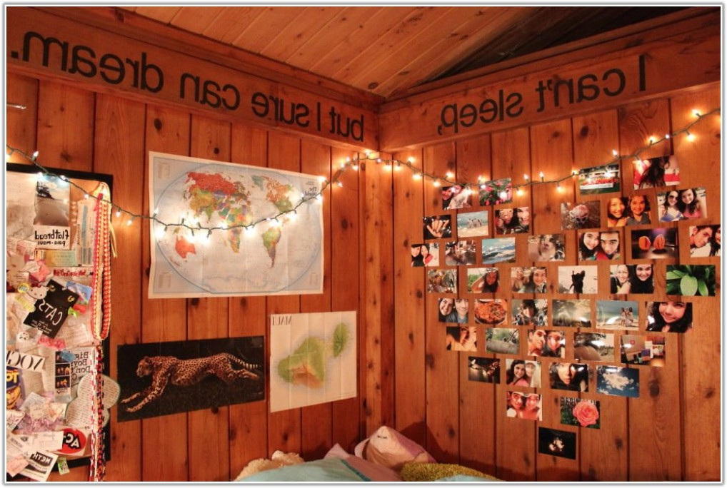 Fairy Lights For Bedroom Wall