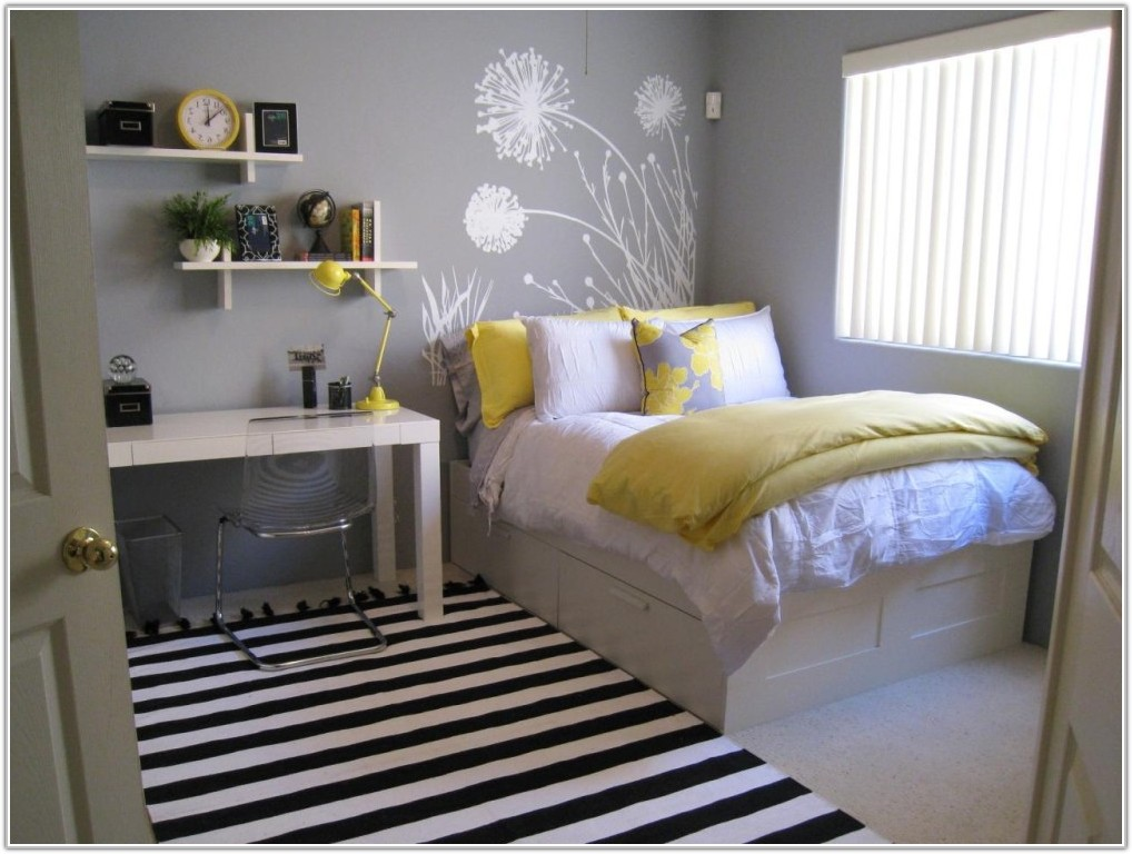 Grey And Yellow Bedrooms Pinterest