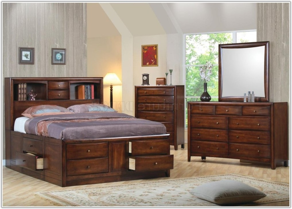 King Bedroom Set With Drawers