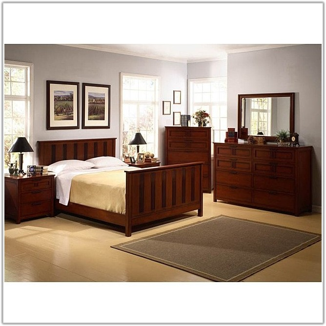 Mission Style Bedroom Set King