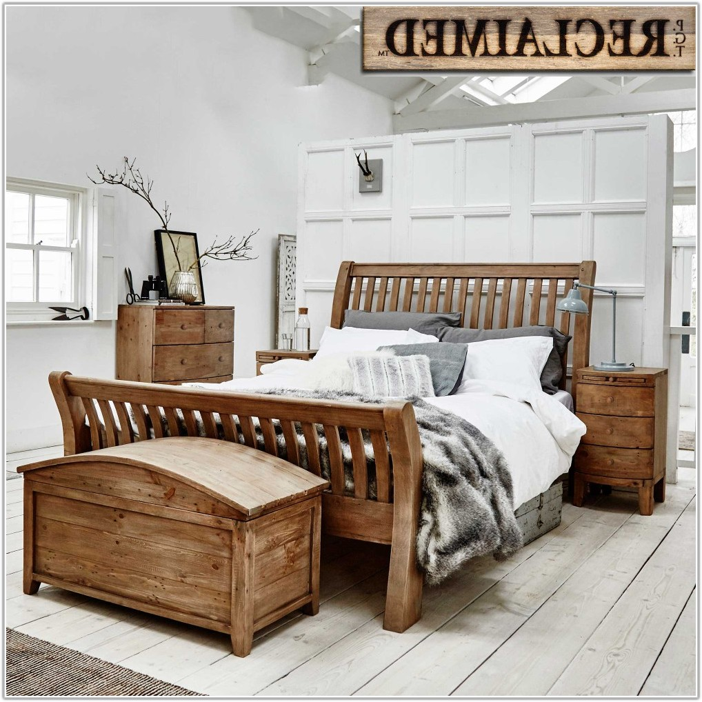 Reclaimed Wood Bedroom Furniture Set