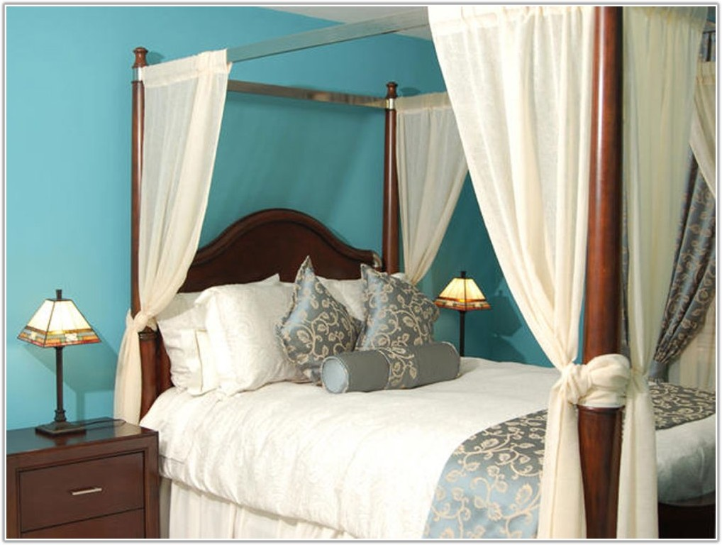 Round Canopy Bed Bedroom Furniture