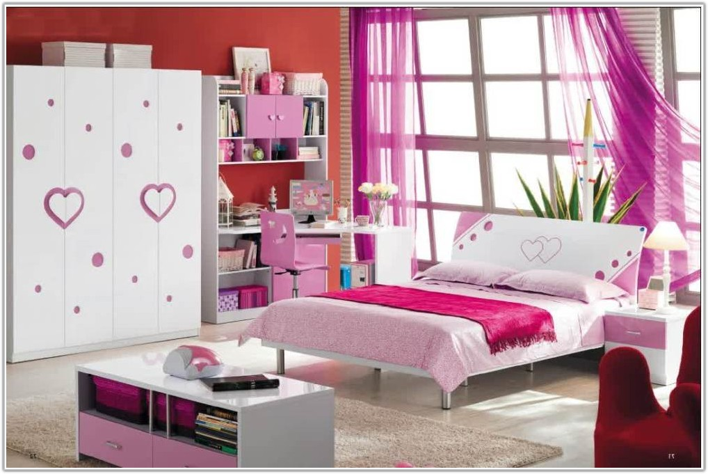Solid Wood White Childrens Bedroom Furniture
