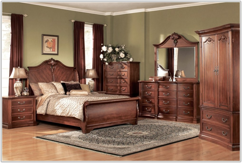 Traditional Bedroom Furniture Solid Wood