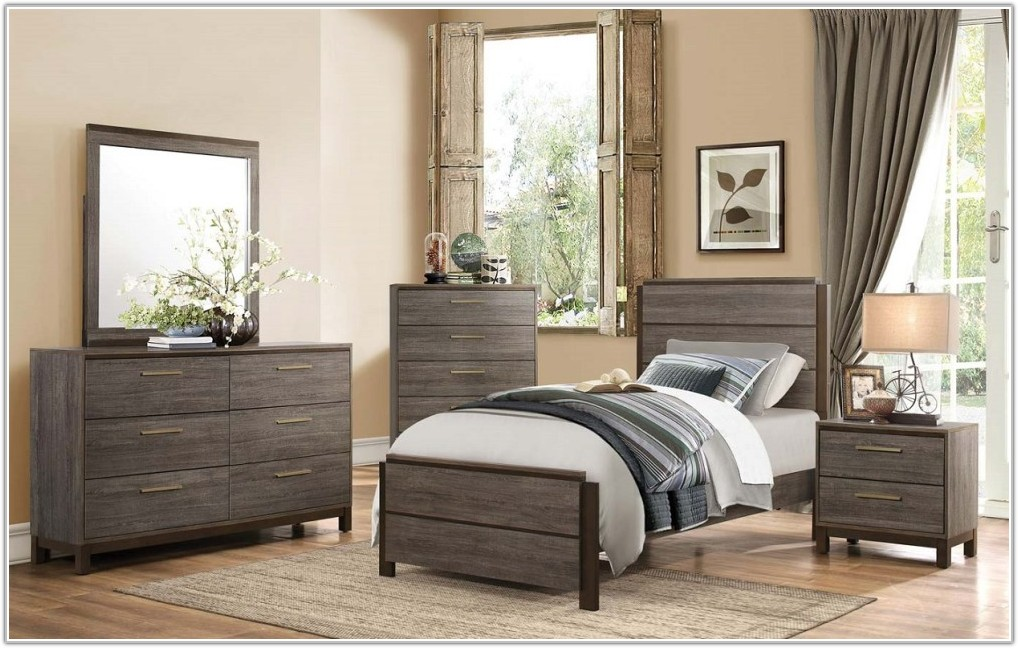 Twin Bedroom Sets With Mattress