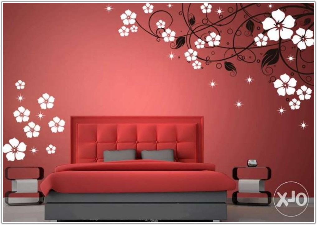 Wall Painting Designs For Bedrooms