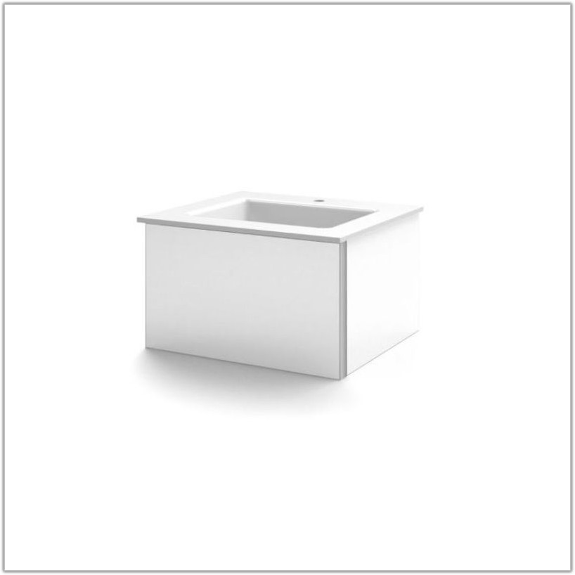 24 Wall Mounted Vanity Cabinet