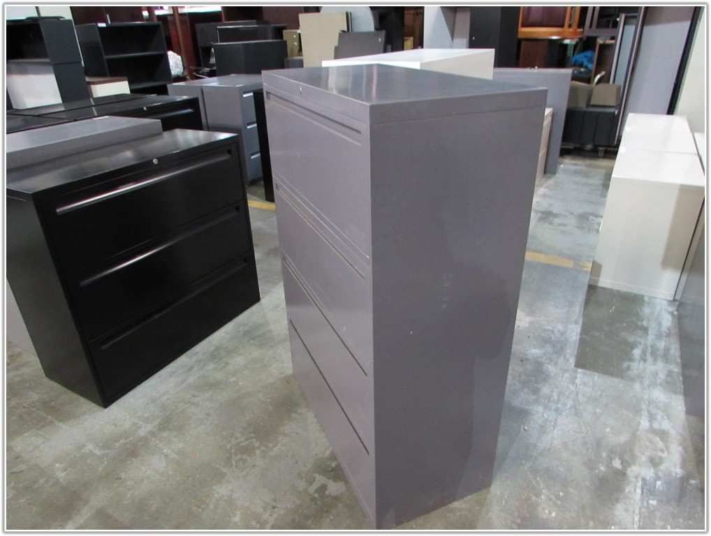 Art Metal 4 Drawer File Cabinet