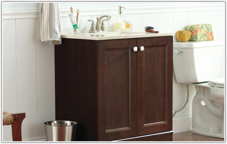 Bathroom Cabinets With Sinks From Home Depot