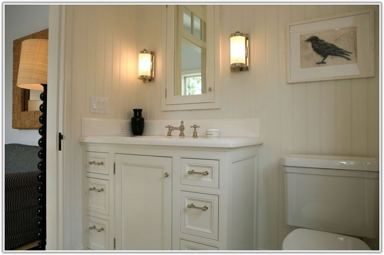Bathroom Medicine Cabinet With Light Fixture