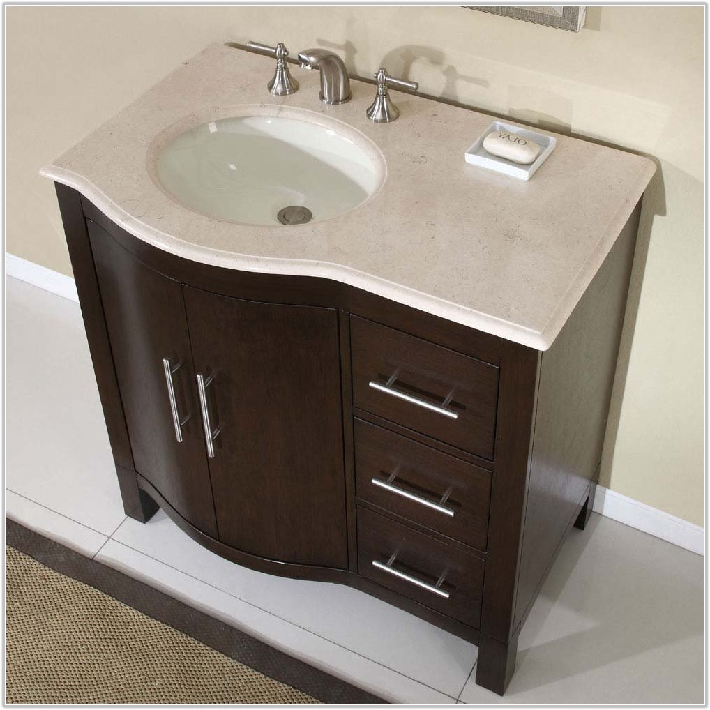 Bathroom Sinks With Cabinets Home Depot