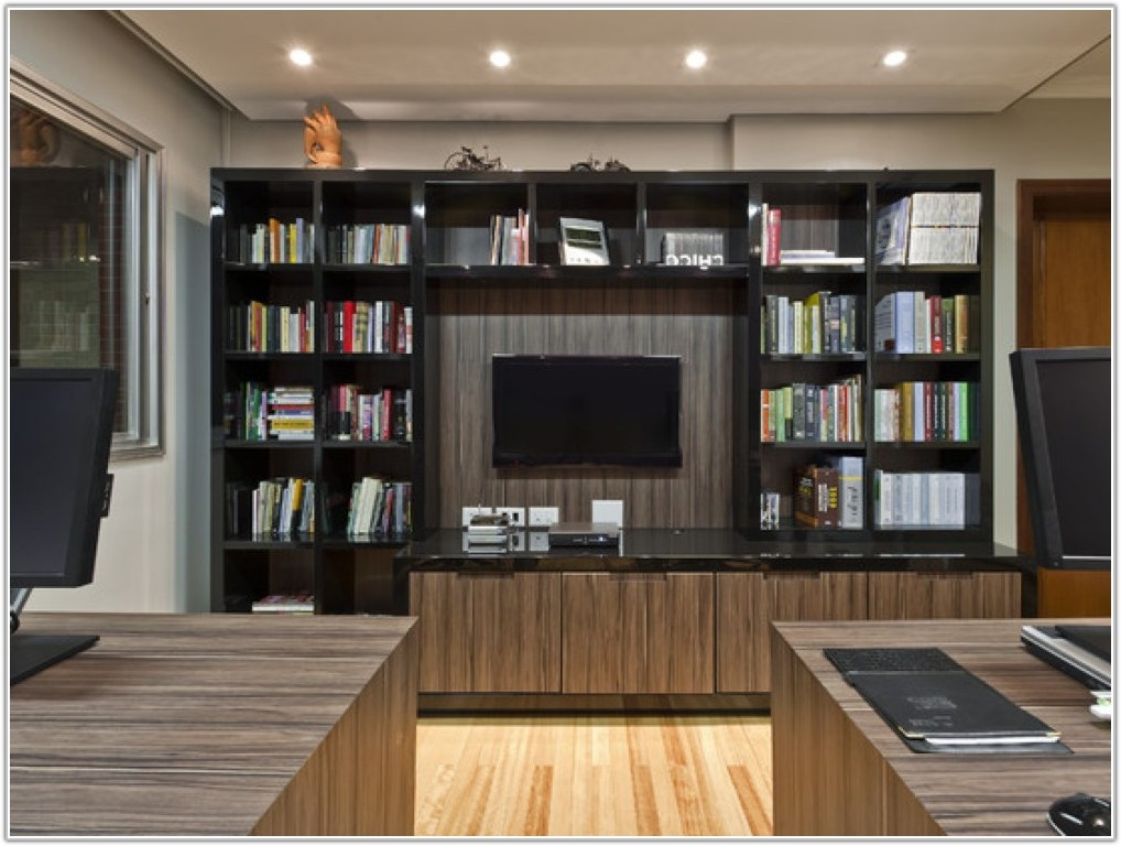 Built In Home Office Furniture Cabinets