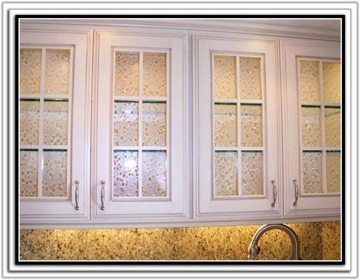 Cabinet Door Glass Inserts Diy